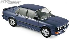 NOREV 1:18 1987 BMW M 535i DIE-CAST BLUE 183267