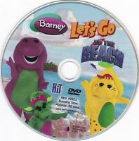 Barney: Let's Go to the Beach (2005, DVD) **DISC ONLY**