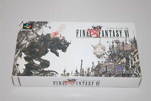 Final Fantasy VI 6 Japan Nintendo Super Famicom sfc game ( New )