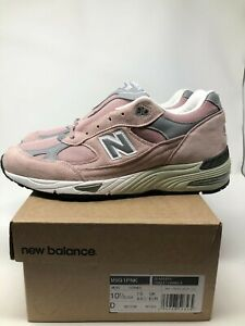 New Balance 991 M991PNK Pink Suede Flimby Made In England UK10 US 10.5