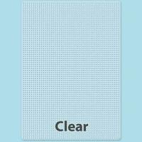 Perler Super-Sized Clear Pegboard With Ironing Paper and Instructions DIY Kit