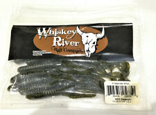 """Whiskey River Bait Company - 6"""" Sidewinder 8 Pack - Discontinue Color"""