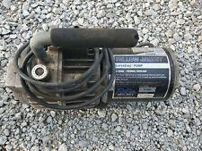 Yellow Jacket 93460 SuperEvac 2 Stage HVAC Vacuum Pump 6 CFM 115V/60Hz - Tested