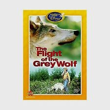 The Wonderful World of Disney THE FLIGHT OF THE GREY WOLF Rare DVD