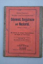Walter Paasche Wander-und Touristenkarten - Odenwald