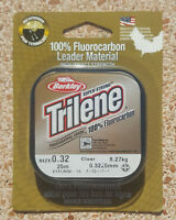 Fluorocarbon Berkley Trilene Leader 25 metri - 0.32 - 8Kg