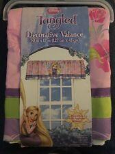 Disney Tangled Flower Garden Decorative Valence For Girls