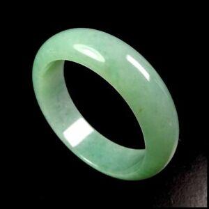 【KOOJADE】Icy Emerald Apple Green Jadeite Bangle Bracelet《55~57mm》《Grade A》
