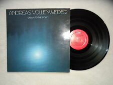 """LP ANDREAS VOLLENWEIDER """"Down to the moon"""" CBS 57001 HOLLAND §"""