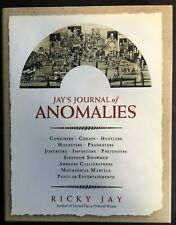 Jay'S Journal Of Anomalies By Ricky Jay 1St Edition Hardcover / Collectible Book