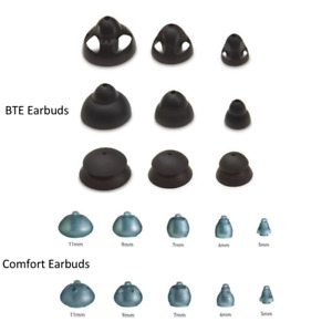 Starkey Comfort Bud Domes and BTE Earbud Domes (All Sizes and Types Avilable)