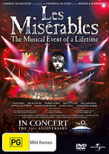 Les Miserables (2010) (25th Anniversary Concert at the O2) * NEW DVD *