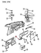 NOS Chrysler OEM CHARCOAL RED Ash Tray Receiver 0AR92JR8 AR92JR8 NEW YORKER