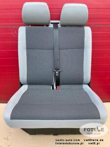 VW T5 Sitzbank Sitz Beifahrersitz 2er Doppelbank  AUSTIN GP Facelift