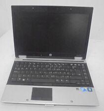 "HP EliteBook 8440p 14"" Laptop i5 m520 2.4GHz 4GB 250GB DVDRW Win 7 Pro"
