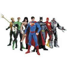 """7 Pcs DC Justice League 7"""" Action Figure Toy Superman/Batman/Flash/Wonder woman"""