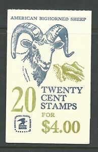 BK142 PLT 6****JOINTLINE LEFT****AM BIGHORNED SHEEP NHVF CV FURMAN $30.00