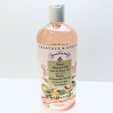 New CRABTREE & EVELYN SWEET ALMOND OIL BATH & SHOWER GEL 16.9 OZ