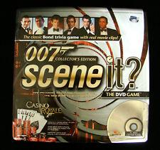JAMES BOND 007 Board Game / DVD Collectors Edition Scene It?