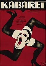 Cabaret Liza Minnelli cult movie poster print A12