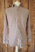 """MENS PAUL SMITH SLIM FIT LONG SLEEVE SHIRT STRIPED 15.5"""" COLLAR 40"""" CHEST"""