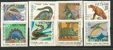 VIET NAM Scott # 972-979 Undated Dinosaurs 1979