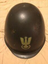 Military-Polish Army Helmet Post War Model #1975 Original Liner