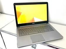 """Dell Inspiron 15"""" Zoll Laptop Notebook Alu i7, 8GB RAM, 1TB HDD, Touch, Full HD"""