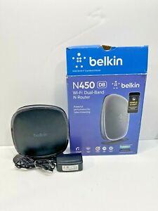 Belkin N450 DB DUAL BAND WIRELESS N ROUTER F9K1105 450 wi-fi Wifi Router