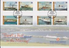 Unaddressed Isle of Man FDC First Day Cover 2005 Steam Packet Company 10% off 5+