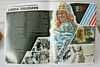 Linda Vaughn Inductee Motorsports Hall of Fame  2019 Yearbook Signed by Linda