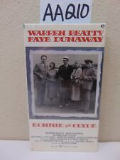 VINTAGE SEALED VHS TAPE-NEW-BONNIE AND CLYDE-WARREN BEATTY-FAYE DUNAWAY