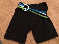 BIA BRAZIL YOGA / Fitness Shorts One Size BLACK / MULTI. EUC