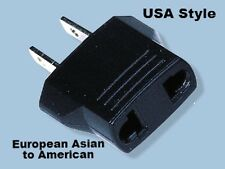 MF7 European Asian to American Plug Adapter