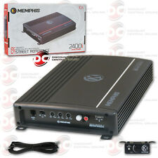 MEMPHIS CAR AUDIO MONO BLOCK 1-CHANNEL CLASS D AMP AMPLIFIER 1200W RMS POWER