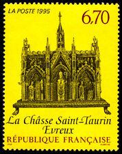 Timbre France Y&T 2926 Neuf** - La châsse de Saint-Taurin à Evreux - 1995