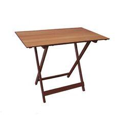 Tavoli / Tavolo pieghevole per giardino terrazzo in noce 100 x 60 cm