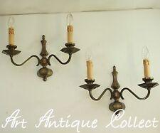 Antiguo Apliques Luminarias de pared Latón Art Decó Estilo GRANDE Led Luz Wall