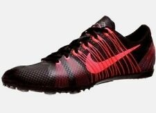 $120 Men NIKE ZOOM VICTORY 2 Track Running Shoes Sz 14 BLACK RED no spikes