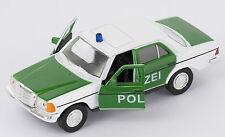 BLITZ VERSAND Mercedes E-Class 230 E Polizei Welly Modell Auto 1:34 NEU OVP
