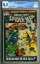 AMAZING SPIDER-MAN #114 CGC 8.5 OW PAGES // JOHN ROMITA COVER 1972