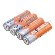 4 x PKCELL NiZn-Akku 1,6 Volt 2500mAh AA wiederaufladbar Batterien Hochwertig