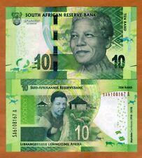 South Africa 10 rand, 2018 P-New UNC > Commemorative Mandela 100 years