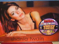 Shania Twain Sticos adhesive 16 x 11 Window Poster NEW