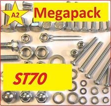 Honda ST70 - Nut / Bolts / Screw / Fastener Grade A2 MegaPack