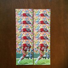 Fred Dean San Francisco 49ers Lot of 10 unsigned Goal Line Art Cards