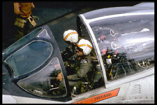 496047 A 6 Intruder Air Crew Settle In Prior To Their Launch A4 Photo Print