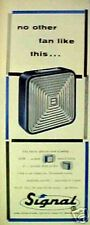 1955 Signal Electric Fan Home Office Appliances Art AD