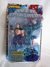 *Amazing Spiderman WEB SPLASHERS Aqua Tech Namor FIGURE