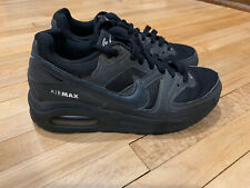 Nike Air Max Command Flex (GS) All Black running 844346-002 Size 4Y